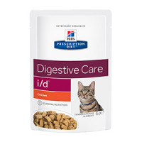 Hills Prescription Diet I/D Feline Chicken Pouch 85 g