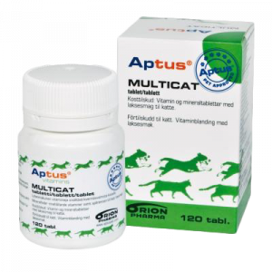 Aptus Multicat tabletter 120 st.