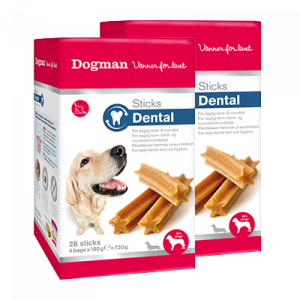 Dogman Dental Sticks Large
