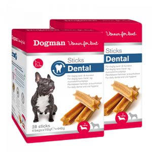 Dogman Dental Sticks Small