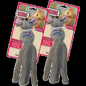 KONG Wubba Cat Mouse