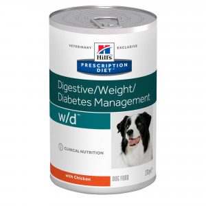 Hills Prescription Diet W/D Canine low vådfoder á 370 g