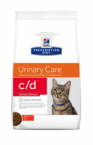 Hills Prescription Diet C/D Feline Urinary Stress, 8kg
