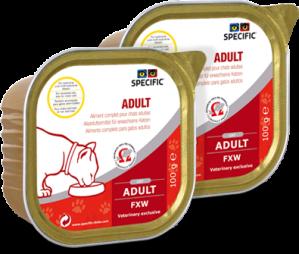 Specific FXW Adult 7x100 g våtfoder till katter