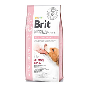 Brit Veterinary Diets Hypollergenic dog 12kg