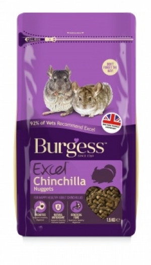Burgess Excel Chinchilla foder 2 kg