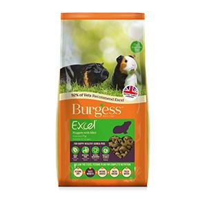 Burgess Excel Marsvinfoder urter mint