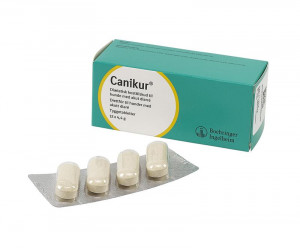 Canikur tabletter 4,4 g, 12 st