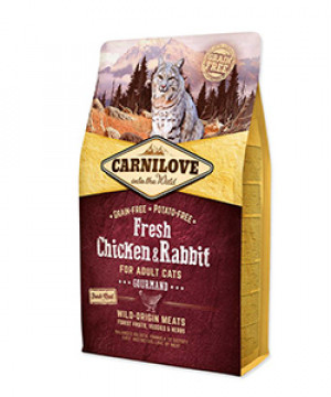 carnilove cat chicken & rabbit