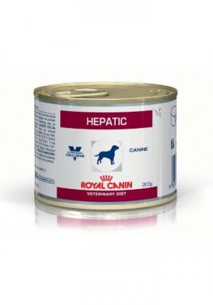 Royal Canin Hepatic hund á 200 g