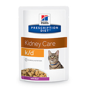 Hills Prescription Diet k/d Feline Renal Health Beef 85 g