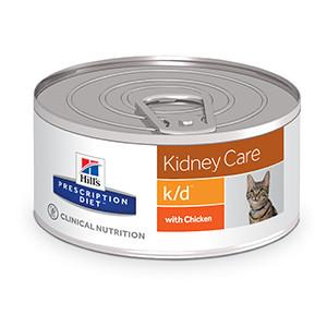 Hills Prescription Diet k/d Feline Kidney Care à 156 g
