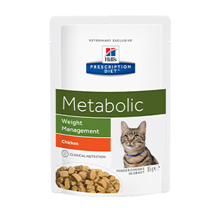 Hill's Prescription Diet Feline Metabolic Advanced Weight Solution à 85 g