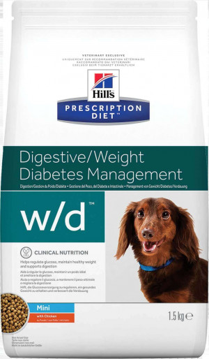 Hills Prescription Diet wd Canine Mini Chicken