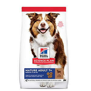 Hill's Science Plan Mature Adult Medium Dog Food, Chicken. 14 kg