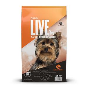 LIVE Adult Dog Mini Breeds - Laks & Ris