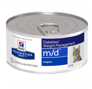 Hills Prescription Diet m/d Feline à 156 g