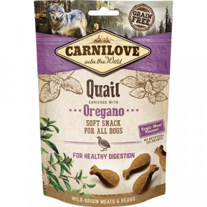 Carnilove Dog Semi Moist Snack Quail, 200g