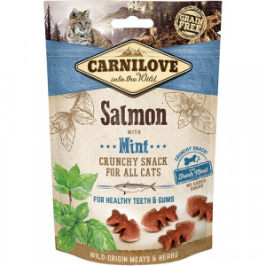 Carnilove Cat Chrunchy Snack Salmon