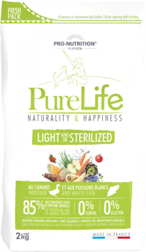 Purelife Light, Sterilized