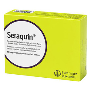 Seraquin Tuggtablett 800 mg 60 st