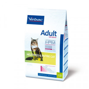 Virbac HPM Adult Cat Neutered & Entire Salmon