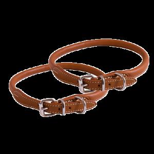 KW Walker Rundsytt Halsband Natur, 0,8x45cm