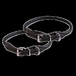 KW Walker Rundsytt Halsband Svart, 1,0x55 cm