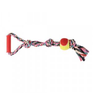Rep med tennisboll flerfärgad