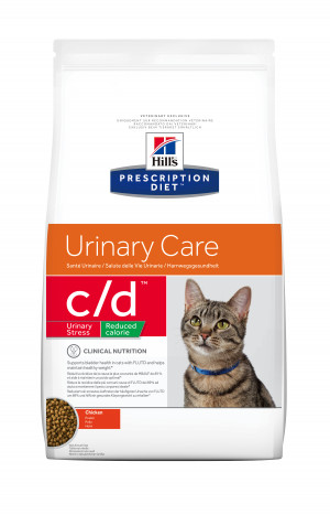 Hills PD C/D Feline Urinary Stress, Reduced cal.