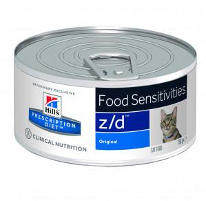 Hills Prescription Diet Feline z/d Ultra Allergen-Free à 156 g