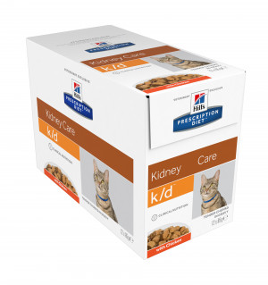 Hills Prescription Diet k/d Feline Kidney Care Chicken á 85 g