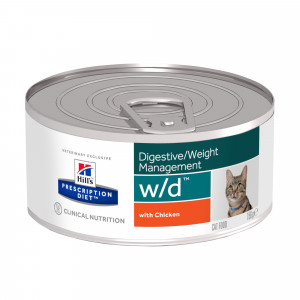 Hills Prescription Diet Feline W/D à 156 g