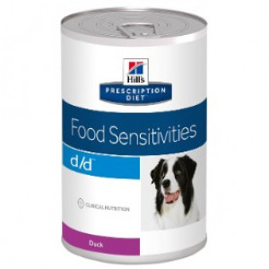 Hills Prescription Diet Canine d/d Duck and Potato á 370 g