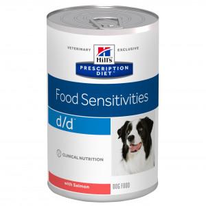 Hills Prescription Diet Canine d/d våtfoder Salmon and Potato à 370 g