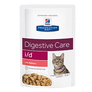 Hills Prescription Diet I/D Feline Salmon Pouch à 85 g