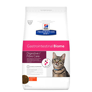 Hills Prescription Diet Feline Gastrointestinal Biome