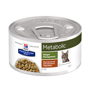 Hills PD Feline Metabolic Stew Chicken & Vegetables